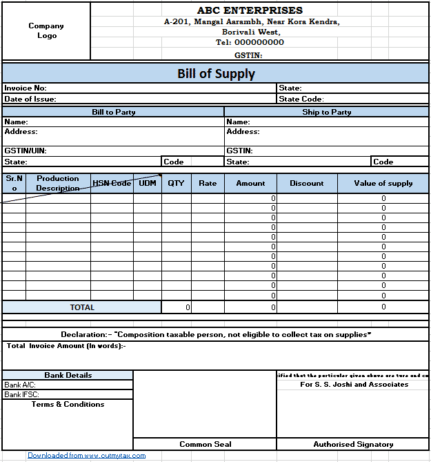Invoice Sample Pdf from alerttax.in